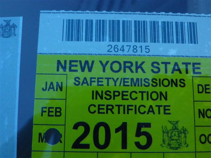 New York State Vehicle Inspection Page Parkes Modeling Reviews