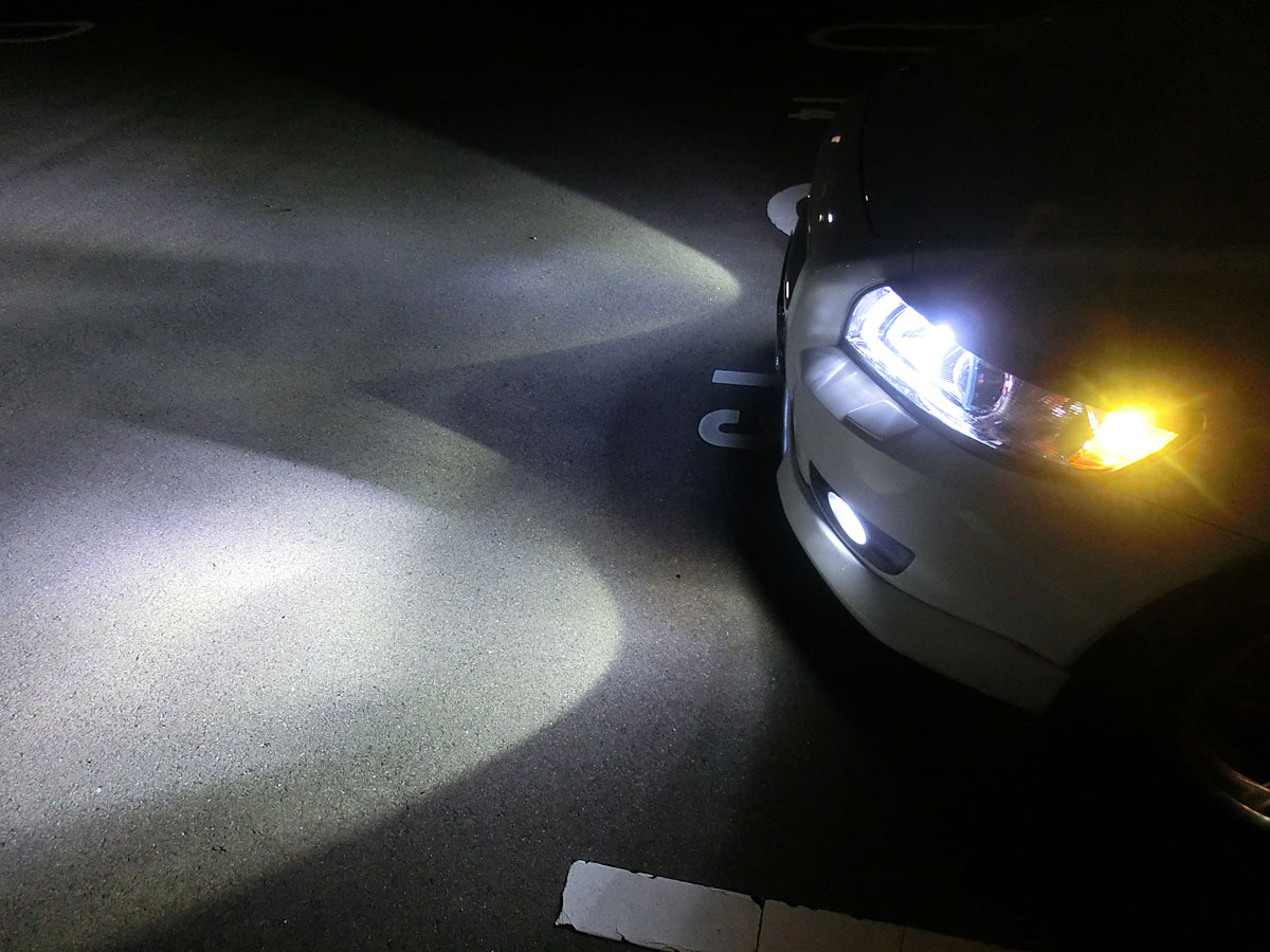 Only In A Fog Light I Can Drive