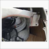 「RF3 後期マスク流用編・その2(フロント周り修理その7)」の画像