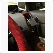 スマートフォンホルダーのカタカタ音防止の画像