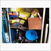 工具&部品棚の入替