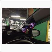 AUTOGAGE 電圧計&タコメーター 取り付け