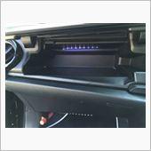 アッパーボックス内LED設置