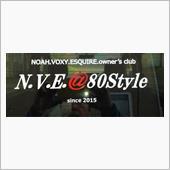 N.V.E.@80Style ステッカー貼っちゃいました。♪