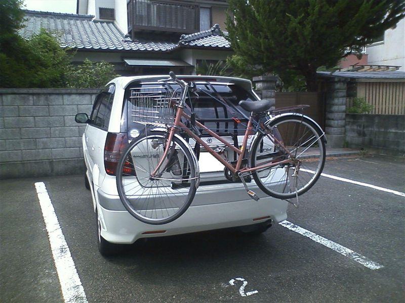 自転車の 自転車 キャリア 背面 : サイクルキャリアを自作 ...