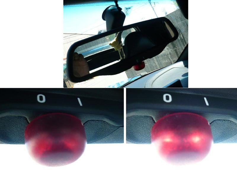 みんカラ Bmw純正 E39用ルームミラー 純正ledのセキュリティ連動仕様 Z3 ロードスター By 8810