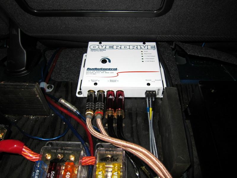 Audiocontrol overdrive