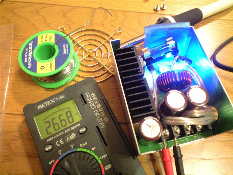 オリジナル ダイレクトイグニッション昇圧装置