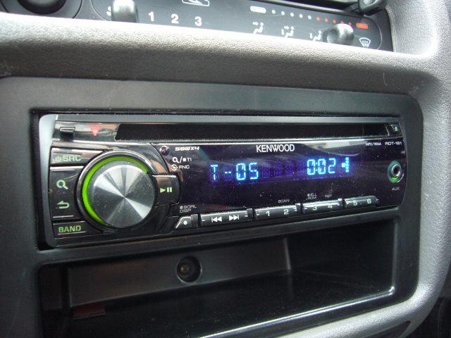 ケンウッド RDT-161  シンプルなCDプレーヤー ディーラーで仕入れた時に純正カセットプレ