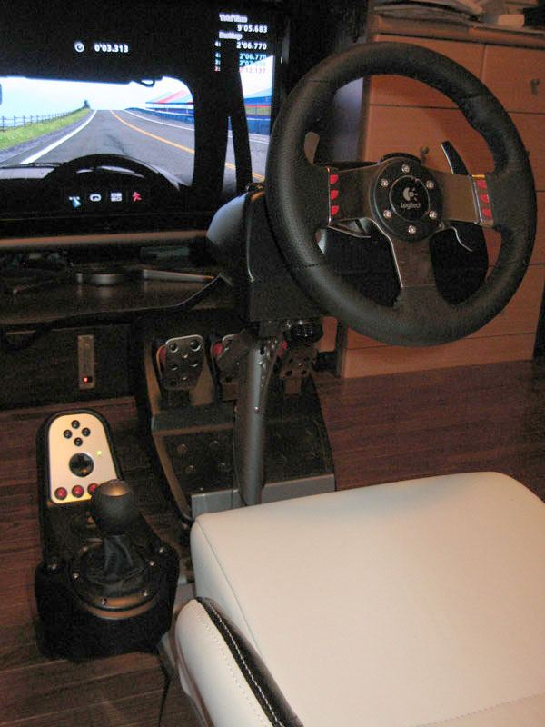 logitech g27 racing wheel by. Black Bedroom Furniture Sets. Home Design Ideas