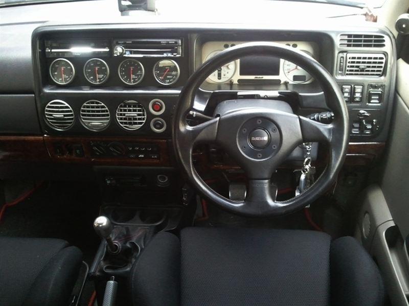 三菱自動車 純正ステアリング ランサーエボリューションⅢ(CE9A)流用  再アップ 通称「エボ