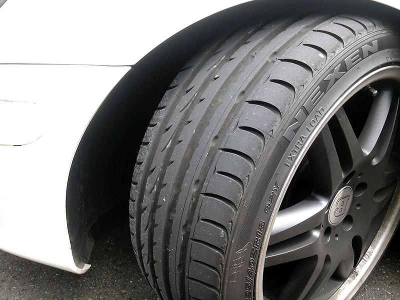 Alguien ha llevado neumáticos Nexen N8000?