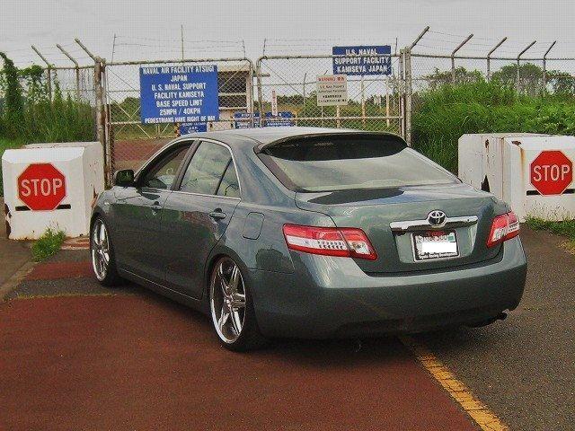 Hic Rear Roof Visor|カムリ トヨタ|パーツレビュー|motorist 3104|みんカラ 車