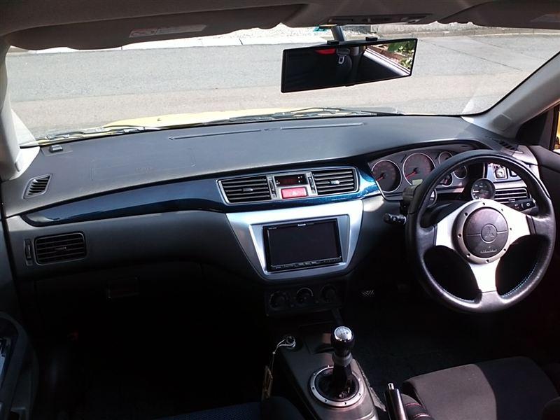 三菱自動車(純正) ランエボ7 GT-A純正インパネ  エボ7純正のグレーインパネが劣化してきて
