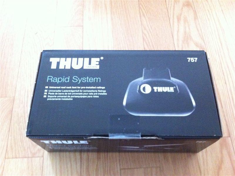 thule rapid system 757 by tk. Black Bedroom Furniture Sets. Home Design Ideas