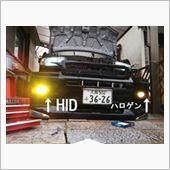不明 35W HIDキット バラスト一体型タイプ 3000K H11