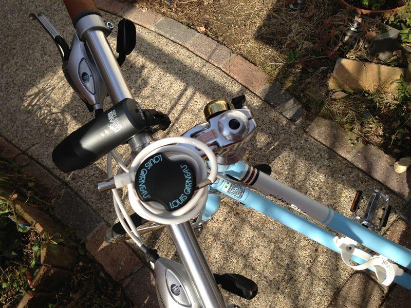 自転車の 自転車 ロック ワイヤー おすすめ : カスタムとは常に二手三手先を ...