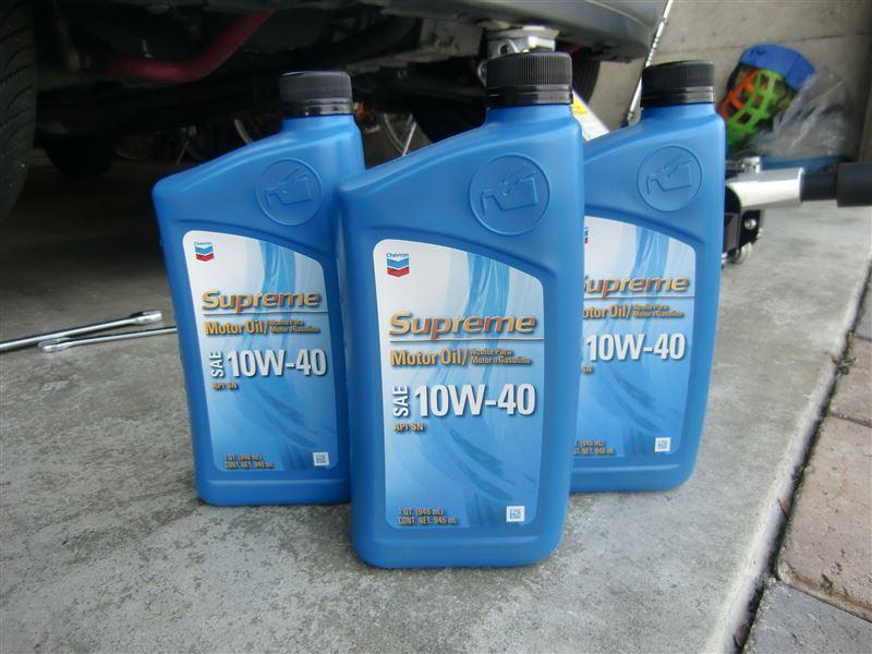 Chevron Supreme Motor Oil 10w 40 By Ao Chan