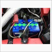 Panasonic Blue Battery caos N-75B24Lの画像