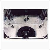 ㈱オクヤマ(CARBING) シビック(EG6) ストラットタワーバー スチール製 リア タイプRの画像