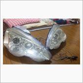 不明 LEDイカリング プロジェクターヘッドライト(メッキ) 内部後期仕様の画像