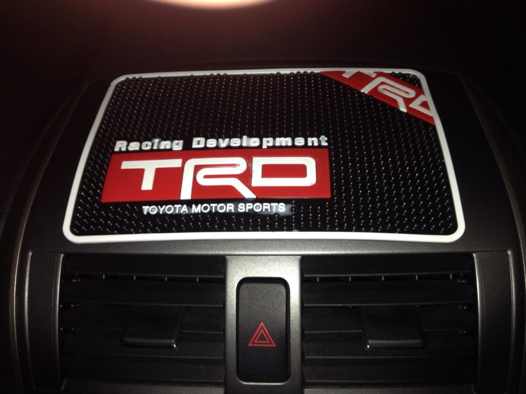 TRD / トヨタテクノクラフト 小物置きパッド