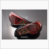 Grazio&Co. カラードテールレンズ レッド&ブラッククリスタルの画像