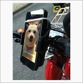不明 携帯ホルダーと、ドリンクホルダーの画像