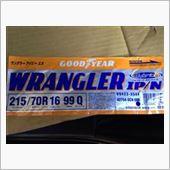 GOODYEAR WRANGLER WRANGLER IP/N 215/70R16の画像