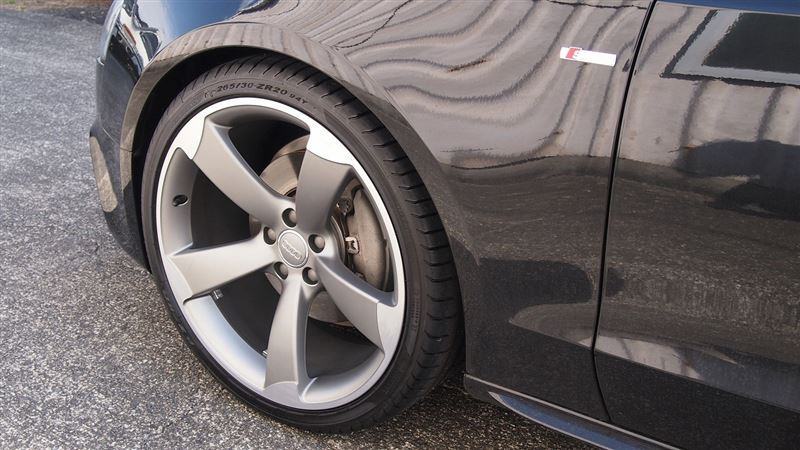 Audi純正 アウディ 5アームデザインアルミホイール a5 スポーツバック アウディ パーツレビュー