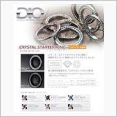 K'spec GIO  GIO スワロフスキー クリスタル スターターリング/ブラッククロームの画像