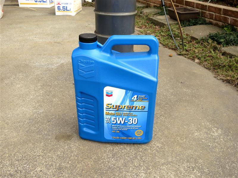 Chevron Supreme Motor Oil 5w 30 C5 By Twingo7