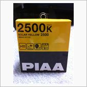 PIAA SOLAR YELLOW 2500 H11 / HY110の画像