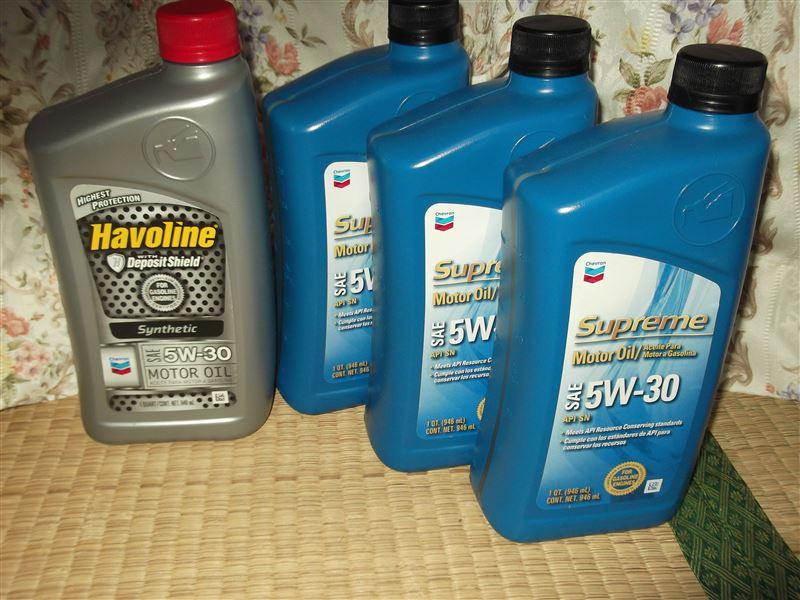 Chevron Supreme Motor Oil 5w 30 Ht81s