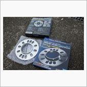 K'spec DIGCAM DIGICAM アルミ鍛造 ハブリング付きスペーサー 5mmの画像