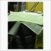 スズキ ワゴンR フェンダー 裏塗装の画像