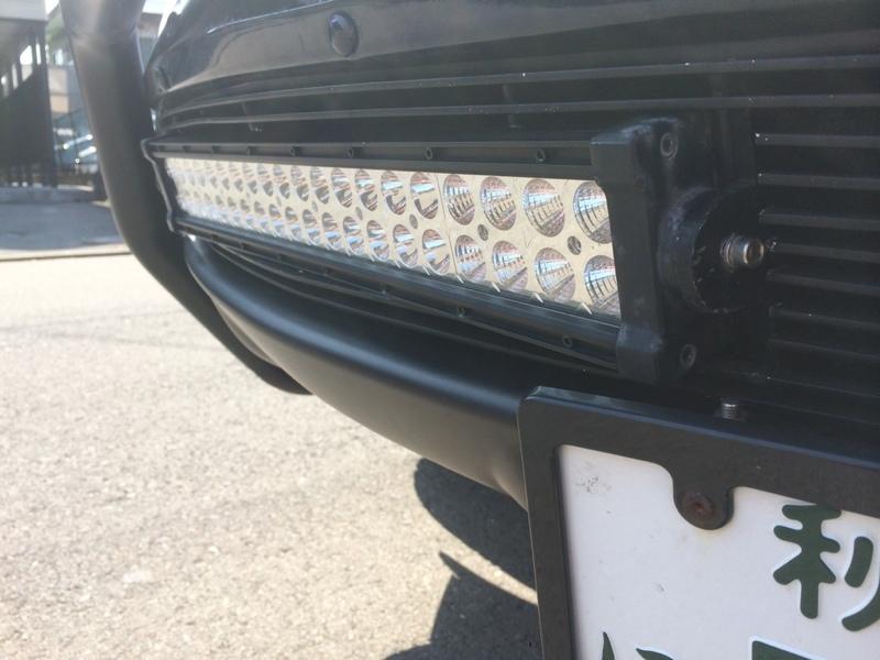 メーカー不明 オフロードランプ LEDライトバー