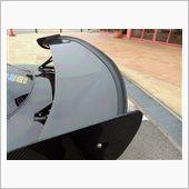 オク品 スポイラー 汎用/ゴム 2.5M 黒 マルチディフレクターの画像