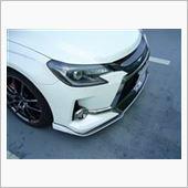 トミーカイラ フロントリップスポイラー FRP+カーボン