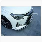 トミーカイラ フロントリップスポイラー FRP+カーボンの画像