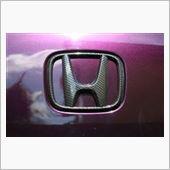 HONDA VENI カーボン調Hマークの画像
