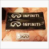 INFINITI シートベルトパットの画像