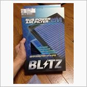 BLITZ SUS POWER AIR FILTER LMの画像