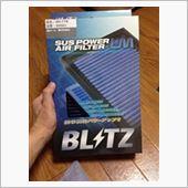 BLITZ SUS POWER AIR FILTER LMの画像