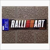 RALLIART RALLI ART ステッカーの画像