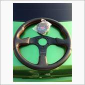 Works Bell ワークスベル オリジナル ステアリング レッドステッチ 35φの画像