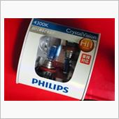 PHILIPS CrystalVision 4300K H11の画像