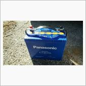 Panasonic Blue Battery caos N-80B24L/S5の画像
