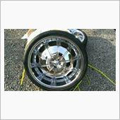 ロックスター 22インチタイヤアルミセット