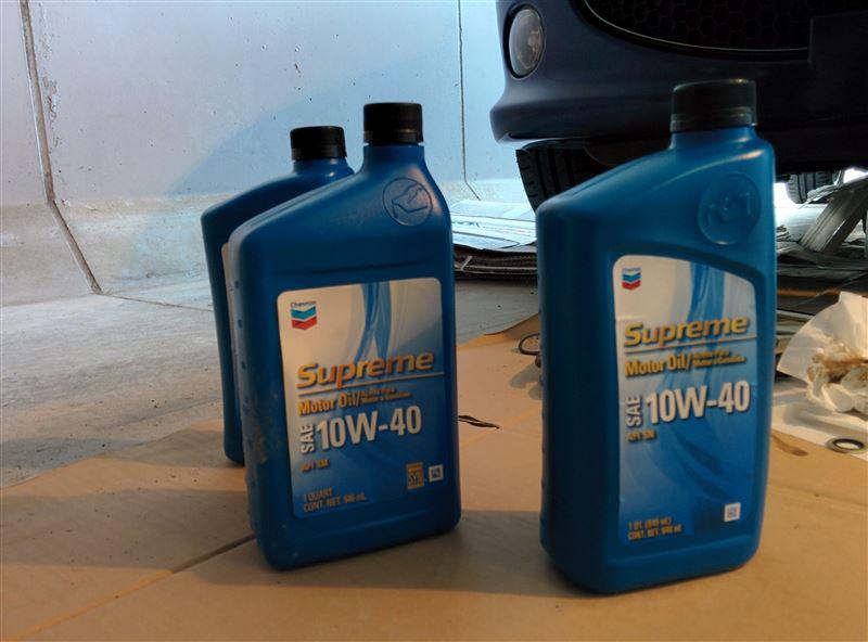 Chevron Supreme Motor Oil 10w 40 206sw